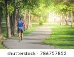 blurred photo of the man... | Shutterstock . vector #786757852