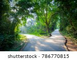 crossroads  two different... | Shutterstock . vector #786770815