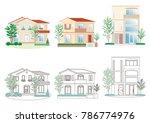 illustration of the house | Shutterstock .eps vector #786774976