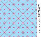 valentine's day. vector... | Shutterstock .eps vector #786776476