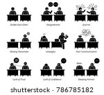 colleague and business partners ... | Shutterstock .eps vector #786785182