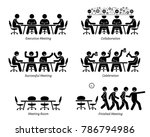 executives having effective and ... | Shutterstock . vector #786794986