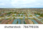 aerial view of the city.... | Shutterstock . vector #786798106