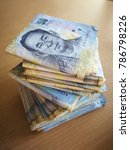 money 50 baht thai bank note... | Shutterstock . vector #786798226