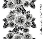 abstract elegance seamless... | Shutterstock .eps vector #786816208