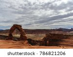 delicate arch is a key feature