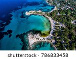 aerial view of the beautiful... | Shutterstock . vector #786833458