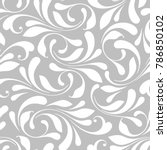 floral seamless pattern.... | Shutterstock .eps vector #786850102