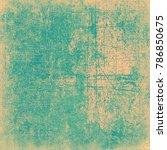 green beige grunge background | Shutterstock . vector #786850675