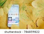 chiangmai  thailand   january5  ... | Shutterstock . vector #786859822
