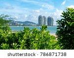 sanya  china   june 27  2017 ... | Shutterstock . vector #786871738