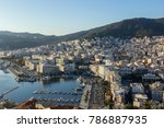 top view of kavala  greece | Shutterstock . vector #786887935