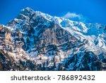 Churfirsten Mountain Range ...