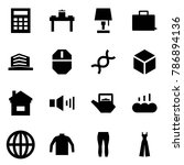 origami style icon set  ... | Shutterstock .eps vector #786894136