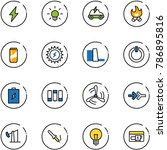 line vector icon set  ...   Shutterstock .eps vector #786895816