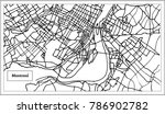 montreal canada city map in... | Shutterstock .eps vector #786902782