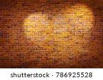 Vintage Brick Wall Background...