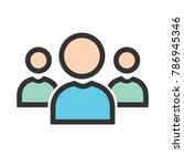 communities  team  network | Shutterstock .eps vector #786945346