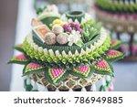 wedding  thai wedding  thai... | Shutterstock . vector #786949885