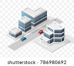 set of isolated high quality... | Shutterstock .eps vector #786980692
