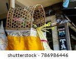 scented sticks in bali | Shutterstock . vector #786986446