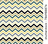 zig zag line pattern | Shutterstock .eps vector #786988876