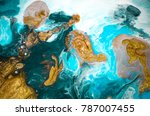 marble texture. eastern style.... | Shutterstock . vector #787007455