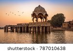 ancient temple at gadi sagar ... | Shutterstock . vector #787010638