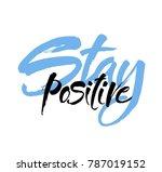 vector hand drawn motivational... | Shutterstock .eps vector #787019152