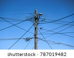 High Voltage Electricity Pole...