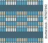seamless geometric pattern....   Shutterstock .eps vector #787027342
