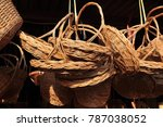 made baskets shop.there are... | Shutterstock . vector #787038052