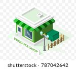 isometric high quality city... | Shutterstock .eps vector #787042642