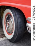 Whitewall Tyre On A Vintage...