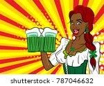 black star african laughter... | Shutterstock .eps vector #787046632