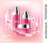 sukura   cherry blossom...   Shutterstock .eps vector #787056538