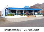el golfo  lanzarote  spain  ... | Shutterstock . vector #787062085