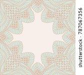 decorative vector frame ...   Shutterstock .eps vector #787067356