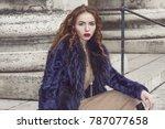 street fashion concept....   Shutterstock . vector #787077658