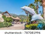 zhuhai  china   dec 20 visitors ...   Shutterstock . vector #787081996