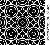 black and white geometric... | Shutterstock .eps vector #787096306