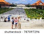 taipei taiwan august 21 2017 ... | Shutterstock . vector #787097296