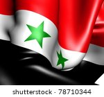 flag of syria. close up. | Shutterstock . vector #78710344
