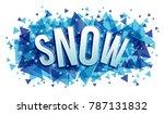 vector creative illustration of ... | Shutterstock .eps vector #787131832