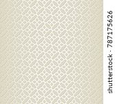 example of an oriental seamless ... | Shutterstock .eps vector #787175626
