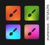 ladle four color gradient app... | Shutterstock .eps vector #787181296