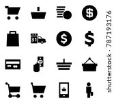 origami style icon set   cart...   Shutterstock .eps vector #787193176