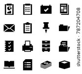 origami style icon set  ... | Shutterstock .eps vector #787204708