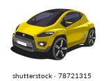 modern car | Shutterstock .eps vector #78721315