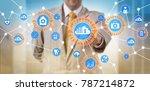 unrecognizable male healthcare...   Shutterstock . vector #787214872